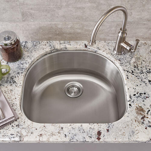 American Standard - Portsmouth Undermount 23x21 Single Bowl Kitchen Sink  American Standard - Stainless Steel