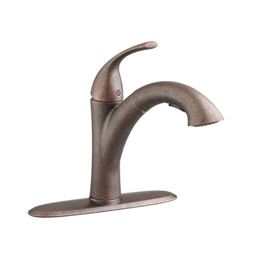 Quince 1-Handle Pull-Out Kitchen Faucet - 1.5 GPM  American Standard - Oil Rubbed Bronze