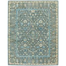 Izmir-Persian Cedars Dusty Blue Hand Tufted Rugs