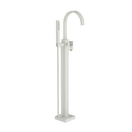Newport Brass - Biscuit Exposed Tub and Hand Shower Set - Free Standing