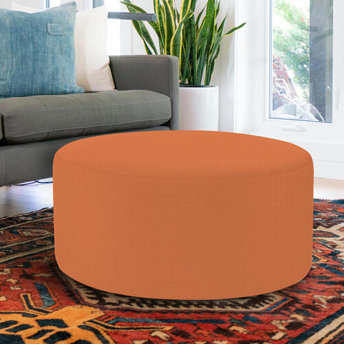 Universal Round Ottoman Cover Seascape Canyon (Cover Only)