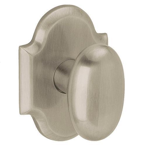Baldwin - Satin Nickel 5024 Oval Knob