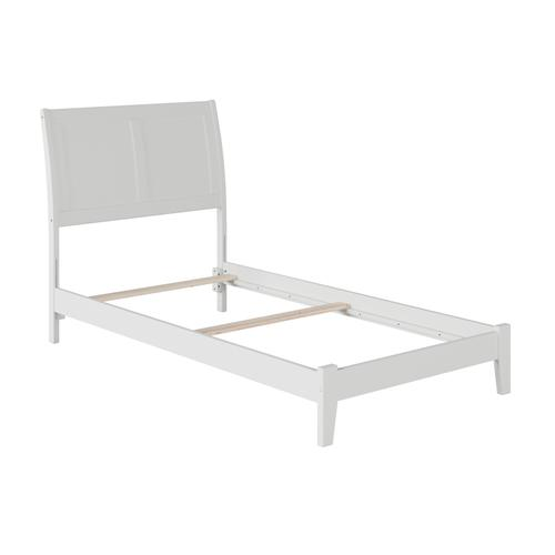 Portland Twin XL Bed in White
