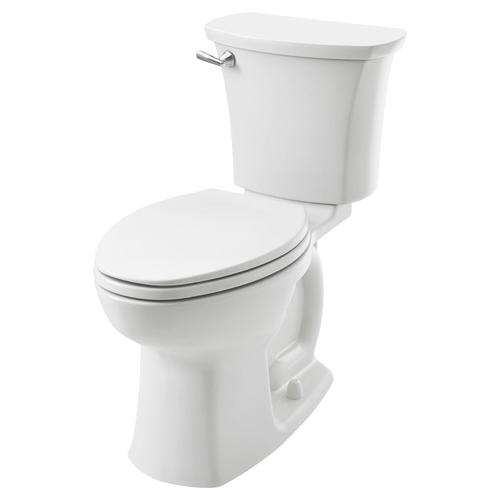 American Standard - Edgemere Right Height Elongated Toilet  10-inch Rough-in  American Standard - White