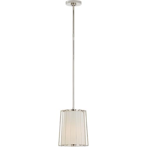 Visual Comfort - Barbara Barry Carousel 1 Light 10 inch Polished Nickel Lantern Pendant Ceiling Light, Small Tapered