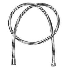 "Plastic shower hose 1/2"" x 1/2"" x 1500 mm. With brass spiral."