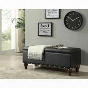ACME Estee Bench w/Storage - 96438 - Black PU Product Image