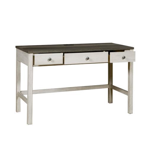 Riverwood Three Drawer Desk with USB Charging