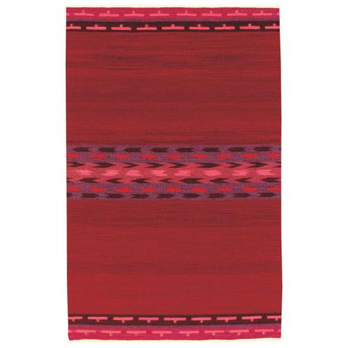 Woven Spirits-Navajo Strawberry Fields Flat Woven Rugs