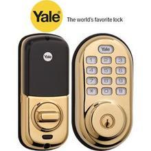 View Product - Brass Assure Push Button Deadbolt