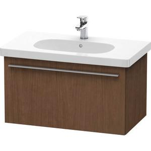 Vanity Unit Wall-mounted, American Walnut (real Wood Veneer)