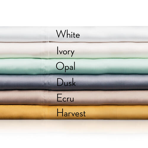 TENCEL Split Queen Ivory