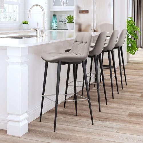 Zuo Modern - Tangiers Counter Chair Taupe