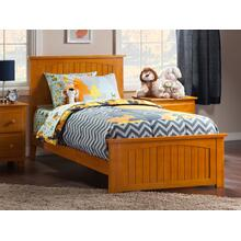 View Product - Nantucket Twin Bed with Matching Foot Board in Caramel Latte