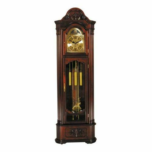ACME Longwood Grandfather Clock - 01417 - Dark Walnut
