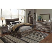 B200 5PC Set: Queen Panel Bed, Chest, Nightstand (Derekson)