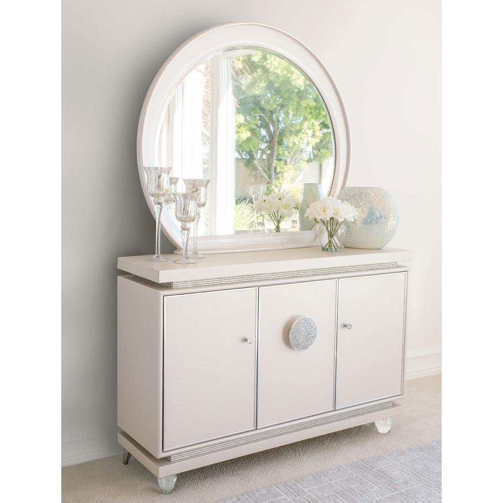 See Details - Sideboard & Mirror