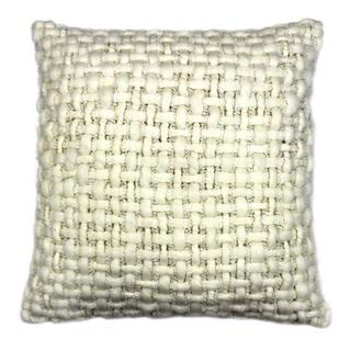 See Details - Cozy Feather Cushion White 20x20