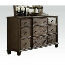 ACME Baudouin Dresser - 26115 - Weathered Oak