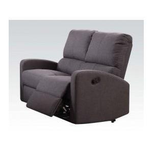 Acme Furniture Inc - Gray Fabric Motion Loveseat
