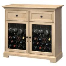 See Details - WS46F Wine & Bar Custom Console