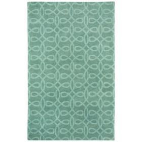 Lyrical Silver Green - Rectangle - 5' x 8'