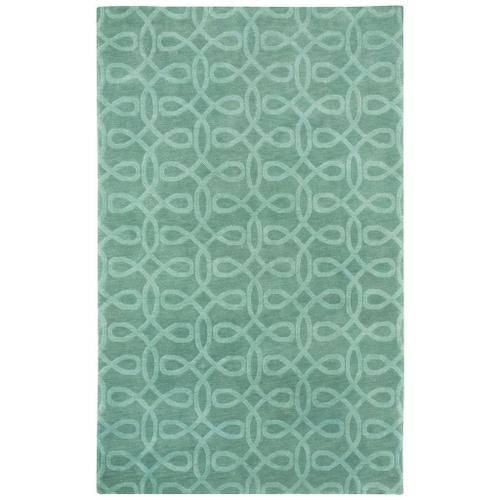 Lyrical Silver Green - Rectangle - 5' x 8'