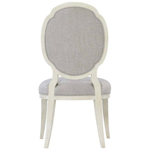 Allure Side Chair in Manor White (399)