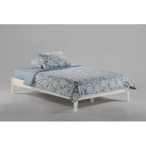 Gallery - P-Series Basic Bed in White Finish