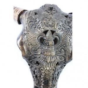 Decorative Buffalo Wall Skull