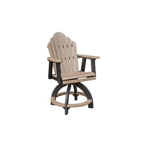 Berlin Gardens - Cozi Back Swivel Counter Chair