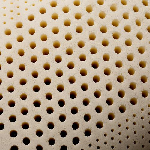 Zoned Talalay Latex Queen Low Loft Plush