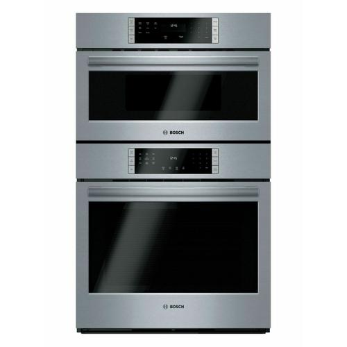 Bosch - 800 Series Combination Oven 30'' Stainless Steel HBL87M53UC