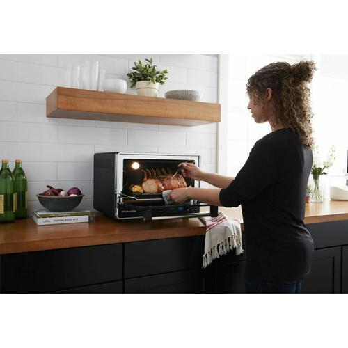 KitchenAid - Dual Convection Countertop Oven - Black Matte