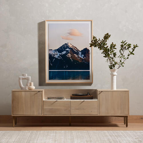 Four Hands - Bianca Media Console-pale Washed Oak