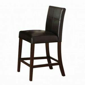 Acme Furniture Inc - ACME Idris Counter Height Chair (Set-2) - 70357 - Espresso PU & Espresso
