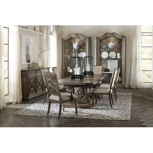 Dining Room Woodlands Rectangle Dining Table w/ 2-22in Leaves