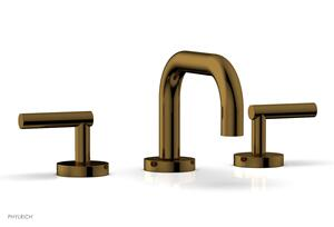 TRANSITION - Widespread Faucet - Low Spout, Lever Handles 120-04 - French Brass Product Image