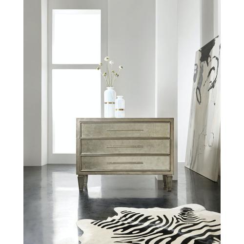 Living Room Melange Tercia Three-Drawer Chest