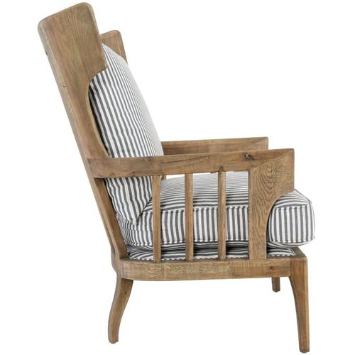 Classic Home - Lawrence Accent Chair Striped