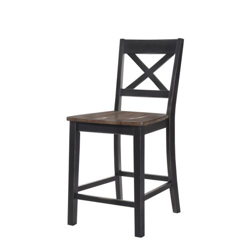 5058-55 COUNTER HEIGHT CHAIR - BLACK