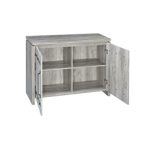 Product Image - Rustic Grey Accent Cabinet