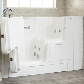 Gelcoat Value Series 32x52 Walk-in Whirlpool Tub  American Standard - White