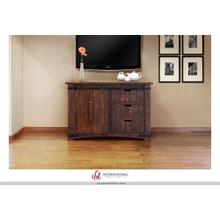 "50"" TV Stand w/3 Drawer, 1 door w/2 shelves"