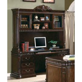 See Details - Tucker Traditional Rich Brown Hutch