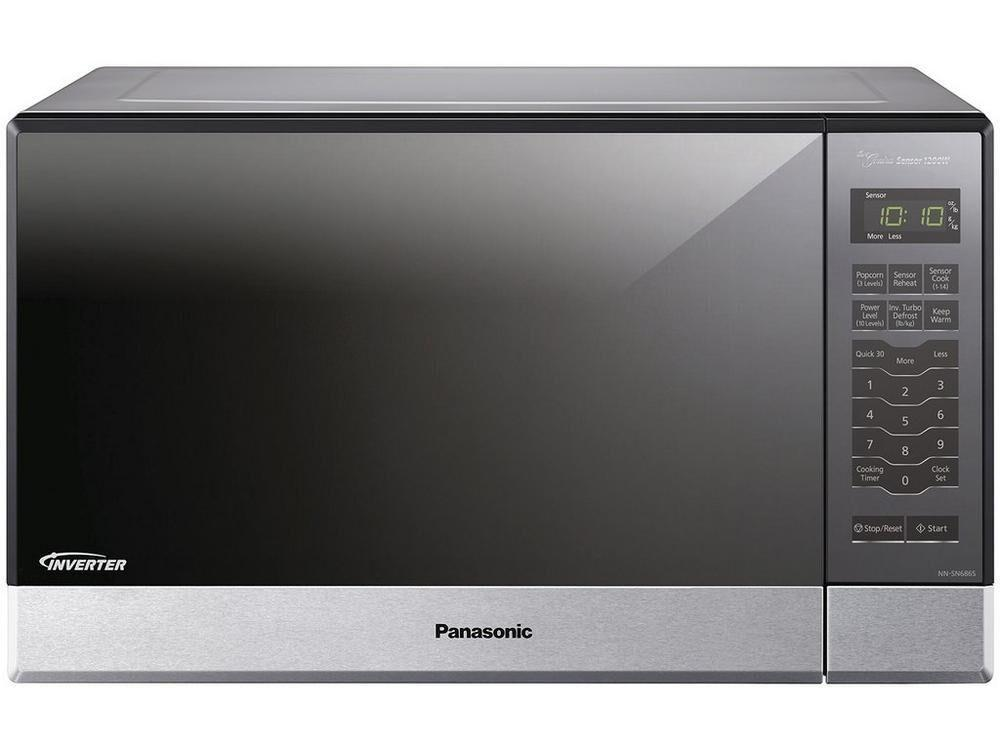 Panasonic1.2 Cu. Ft. 1200w Built-In/countertop Microwave Oven With Inverter Technology - Stainless Steel - Nn-Sn686sr