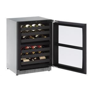"U-LINE24"" Dual-zone Wine Refrigerator With Integrated Frame Finish (230 V/50 Hz Volts /50 Hz Hz)"