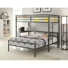 View Product - Metal Workstation Twin Loft Bed