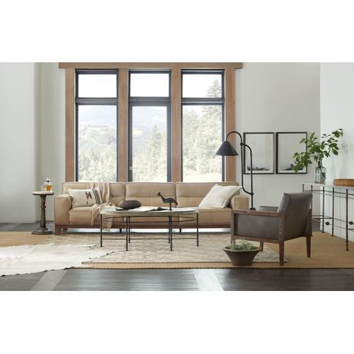 Living Room La Grange Faison Oval Cocktail Table