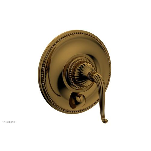 GEORGIAN & BARCELONA Pressure Balance Shower Plate with Diverter and Handle Trim Set PB2141TO - French Brass